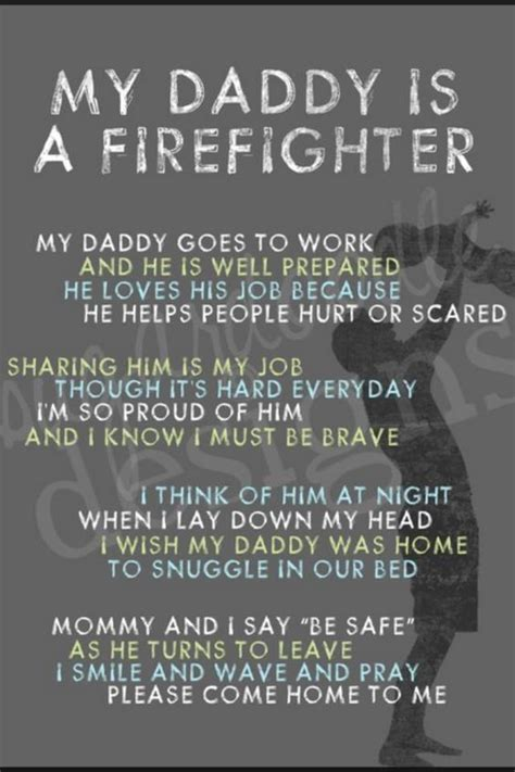 daddy   firefighter firefighter quotes