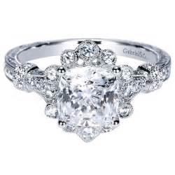 gabriel engagement rings gabriel co engagement rings vintage flare 14k