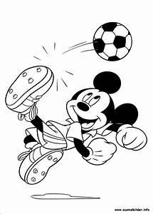 Micky Maus Malvorlagen Kinder Geburtstag