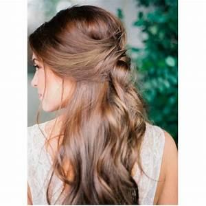 Coiffure Mariage Facile Cheveux Mi Long : coiffure temoin mariage cheveux mi long ~ Nature-et-papiers.com Idées de Décoration