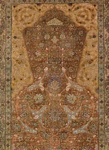 Bonhams   A Zareh Penyamin Kum Kapi Silk And Metal Thread Rug  Istanbul  Turkey  Circa 1910  174