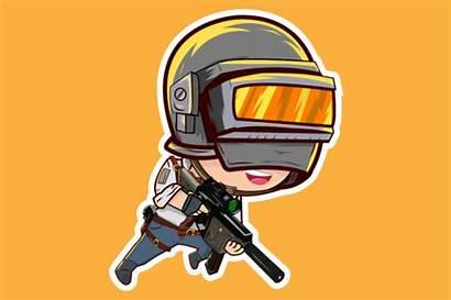 Pubg Character Vector 8k Soldier Minimal Chibi