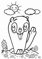 Gopher Coloring Pages sketch template