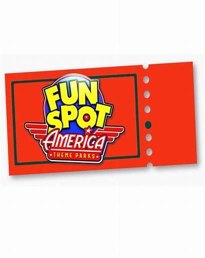 Fun Spot Ticket Funspot Theme Orlando Central