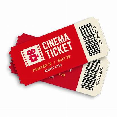Ticket Movie Cinema Clipart Tickets Clip Graphics