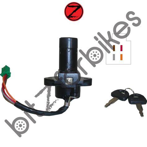 Suzuki Ignition Switch by Ignition Switch 4 Wire Suzuki Gn 400 Tt 1980 Ebay