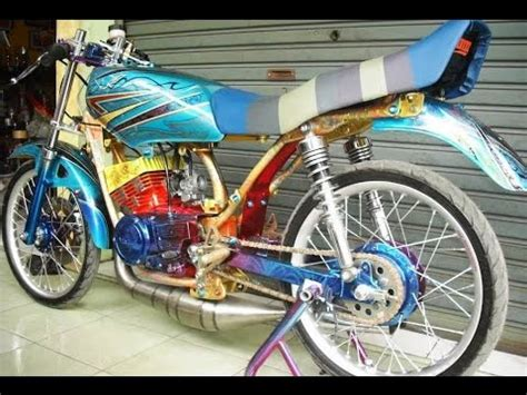 Modif Rx King Gagah by Cah Gagah Modifikasi Motor Yamaha Rx King Drag