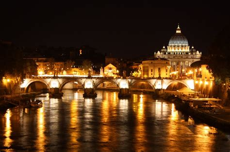 Photo Of Vatican City By Night
