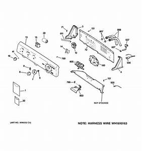 Hotpoint Washer Controls  U0026 Backsplash Parts