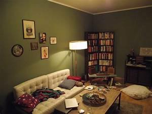 Das Wohnzimmer Im Retro Look Foto MB Unterm Dach