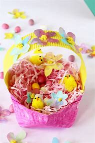 Best plate flower craft ideas and images on bing find what you pinterest paper plate easter basket mightylinksfo
