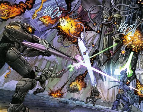 What Halo Comic Had The Best Artwork