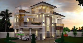 home design unusually modern three storey house home design