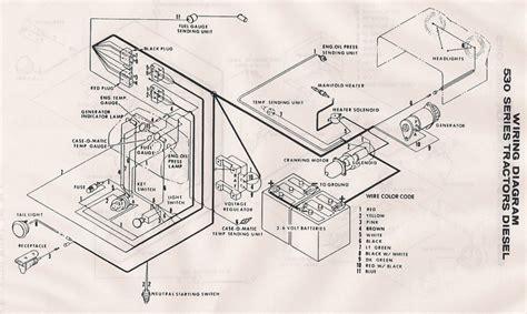 case  wiring diagram case  david brown forum
