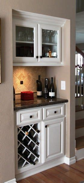 mini bar  built  wine rack built  corner bar