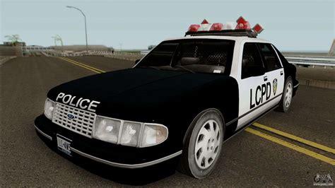 Police Car Hd For Gta San Andreas