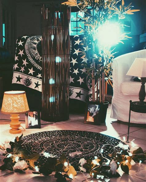 witch house aesthetic bedroom witch room witch decor