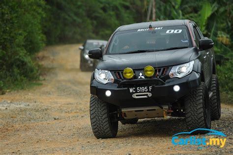 Mitsubishi Triton Modification by Mitsubishi S Borneo Triton Adventures No Modifications