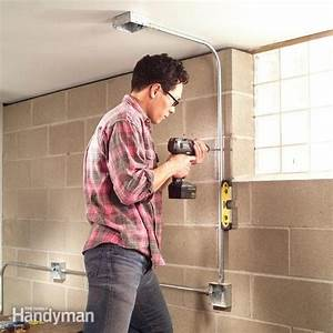 Install Surface Mounted Wiring And Electric Conduit