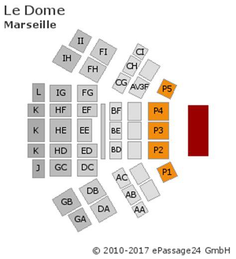 plan de la salle du dome plans de salle plans de stade disposition places assises le dome marseille fr ticketbande fr