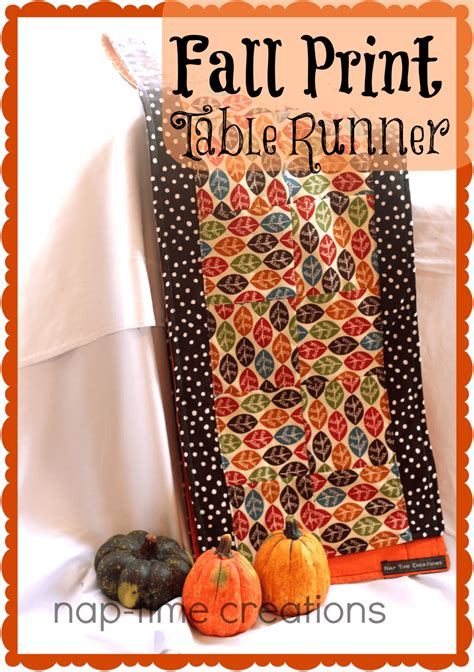 fall table runners to make fall table runner with twine life sew savory