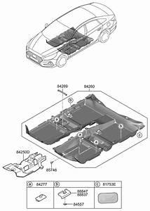 2018 Hyundai Sonata Hybrid Floor Covering
