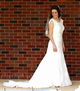 before after how jill dillard39s wedding dress was With duggar wedding dresses