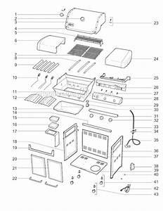 Weber 6511701 Parts List And Diagram   Ereplacementparts Com