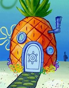 Spongebob Pineapple Clipart - ClipartXtras