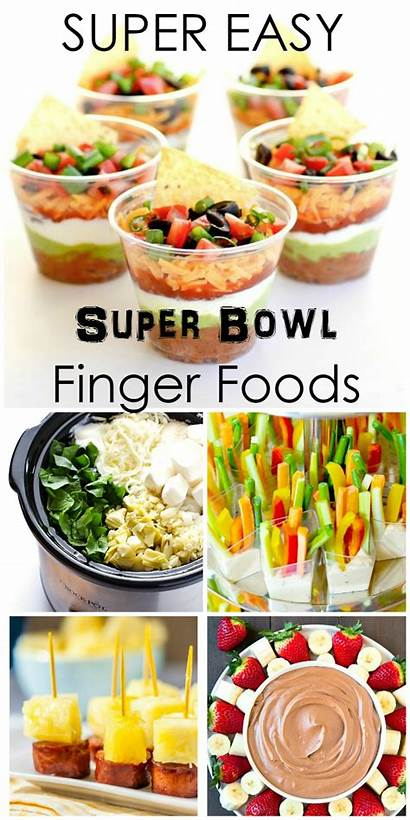 Bowl Super Appetizers Finger Foods Mouthwatering Craft