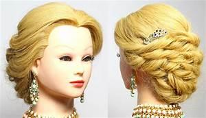 Bridal Updo Wedding Prom Hairstyles For Long Medium Hair