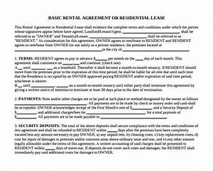 12 month to month rental agreement form templates to With 12 month lease agreement template