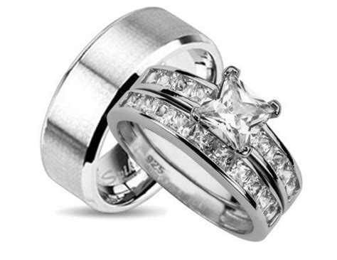 Stunning Walmart Wedding Rings Sets For Him And Her