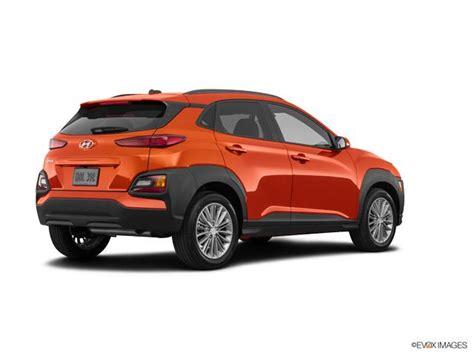 hyundai kona sel  auto awd sunset orange sport