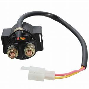 Motorcycle Starter Solenoid Relay Atv 50cc 70cc 90cc 110cc 125 Gy6125 For Most Chinese Scooter
