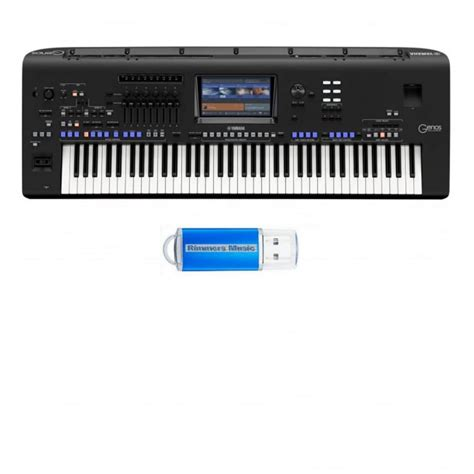 yamaha genos keyboard yamaha genos digital workstation with uk mainland delivery