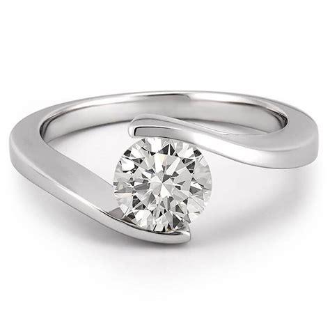 Floating Diamond Ring  Floating Diamond Engagement Ring