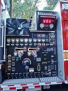 Fire Truck Pump Control Panel