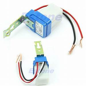 Ac Dc 220v 10a Auto On Off Photocell Street Light Wiring Diagram