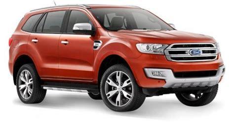 2015 ford endeavour 2015 ford everest revealed