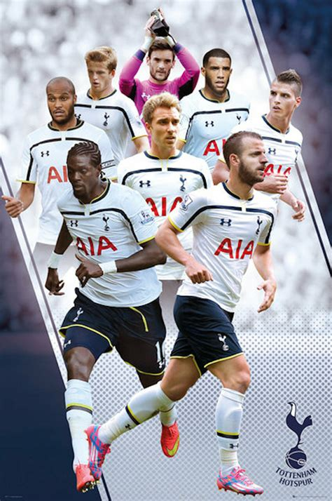 Includes the latest news stories, results, fixtures, video and audio. Tottenham Spurs FC Players Montage Poster 14/15 - Buy ...