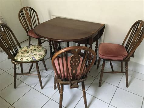 Kitchen Table And Chairs Gumtree Tyne And Wear vintage second kitchen table and 4 chairs in