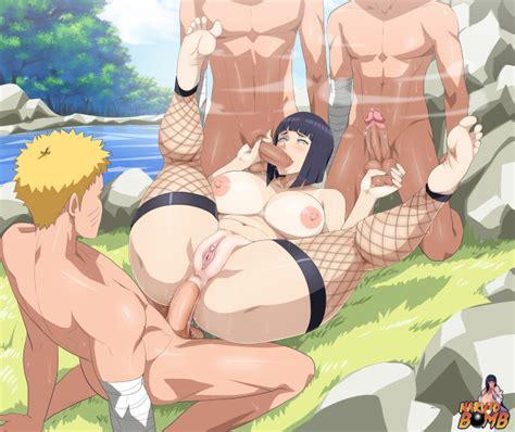 Naruto And Hinata Cyberunique Naruto