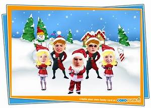 Card Invitation Samples Funny Xmas Cards Rectangle