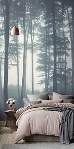 Tapeten Im Schlafzimmer : 80 atemberaubende modelle ausgefallene tapeten ~ Michelbontemps.com Haus und Dekorationen