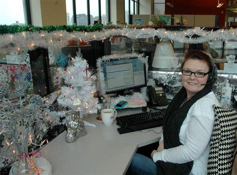 Shoal Creek Desk Hutch Bundle by 100 Christmas Cubicle Decorating Contest Flyer