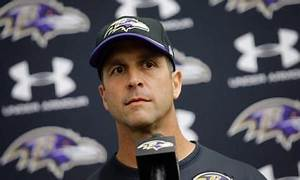 John Harbaugh: 'When you're going through hell, keep going'