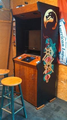 Xtension Arcade Cabinet Speakers by Custom Arcade Cabinet With Hand Painted Artwork