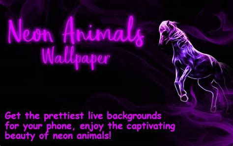 Moving Animal Wallpapers - neon animals wallpaper all wallpaper unlcoked mod apk