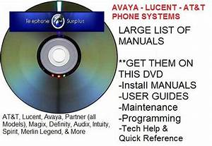 At U0026t Acs Ii Partner Phone System Manual Guide Lucent Avaya